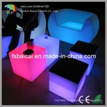 Светодиодная кубическая мебель