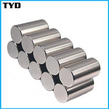 Haute performance magnétique Aimants NdFeB de Terre rare avec forme de cylindre