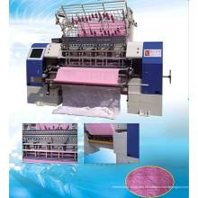 Máquina de fabricación de alta velocidad de la puntada de la cerradura del transbordador de la alta velocidad, maquinaria de la producción del lecho, fábrica de la fabricación del edredón