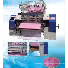 Haute vitesse navette Lock Stitch Multi aiguille Quilt faisant la Machine, machines de Production de literie, usine de fabrication de la couette