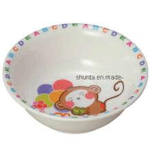 100% Melamin Geschirr - Kindergeschirr Kinder Reisschüssel (BG2041)