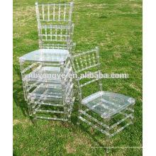 Прозрачный стул chiavari