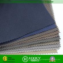 Tela de poliester estirada teñida llana cepillada para el cortavientos o la chaqueta