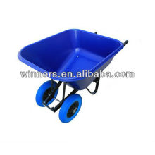 dual wheels wheelbarrow