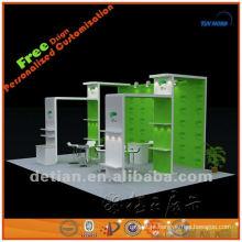 2014 Xangai exposição de equipamentos de exibição de fornecimento de stands de exposição de vidro acessórios stand