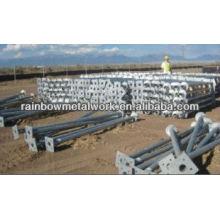 Anclaje de suelo para cimentaciones de paneles solares