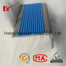 Tiras antiderrapantes da tira L da inserção do PVC para escadas