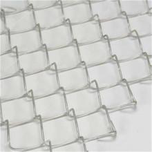 Clôture de mailles en acier recouvert d'aluminium de décoration