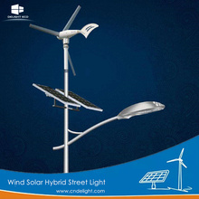 Wind Solar High Lumen híbrido Led luz de calle