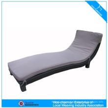 Meubles en osier extérieur chaise longue en plastique K3