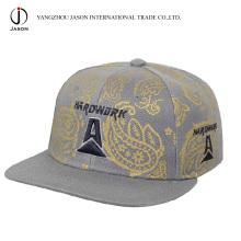 100% Acrylic Snap Cap Cap Flat Peak New Era Cap
