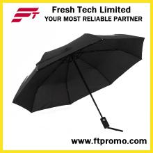 Full Color Print Auto Open Folding Umbrella for Customized