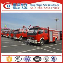 New mini 5000Liter Dongfeng truck fire
