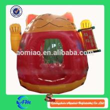 Caixa de dinheiro inflável dinheiro caixa / caixa / cubo venda