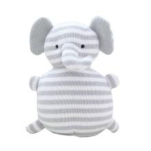 Crocheted animal baby amigurumi customized knit stuffed animal totoro elephant bear unicorn bunny plush toy