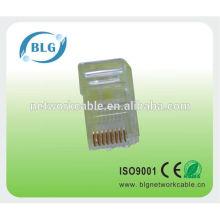 Заводская цена: модульная розетка RJ45 8P8C для сетевого кабеля utp