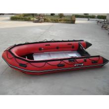 Populäres aufblasbares Motor-PVC-Boot für das Fischen und das Driften