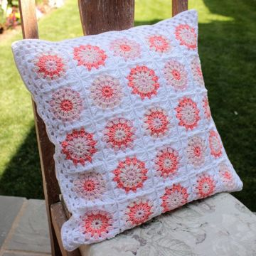 Venta al por mayor Eco-Friendly Crochet Cushion Cover Making