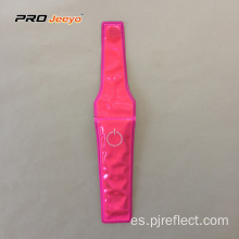 Clip magnético de advertencia ajustable rosa pvc