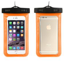 Caso de iphone impermeável novo design pvc com alça de pescoço (yky7249-4)