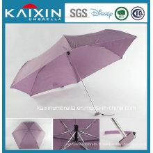Parapluie pliant promotionnel de 19 pouces
