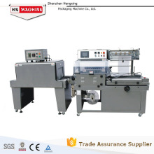 automatic less shake l-sealer and shrink tunnel