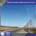 9m Galvanized Street Lighting Pole