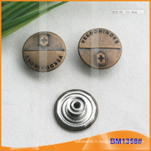 Boutons métalliques occidentaux BM1358