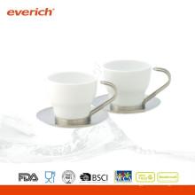 100ml moderne drinkware kundenspezifische Porzellan-Kaffeetasse