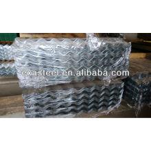 Galvanized roofing steel panels