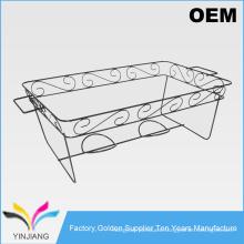Mesa de cocina de diseño simple Estante de pote de metal para el sostenedor caliente del pote