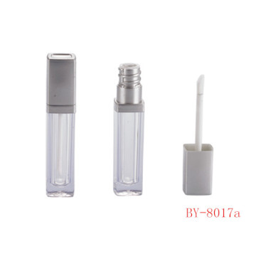 Square Silver Lip Gloss Container