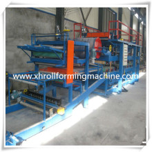 2015 venda quente painel Sandwish telhado automático Roll Forming Machine