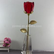 Горячей Продажи Высокое Качество Хрустальная Роза Для Свадьбы