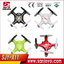 Syma nuevo producto 4CH RC Transmisor Nano 6-Axis RTF UFO 2.4G mini RC Quadcopter Drone X12
