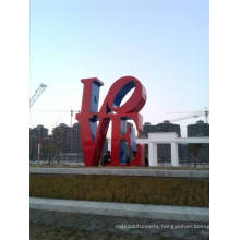 Modern Large Arts Abstract Stainless steel Sculpture for Outdoor decoration