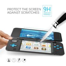 Haut Protecteur d'écran LCD en verre trempé + Bottom Clear Full Cover Protective Film Guard pour Nintendo Nouveau 2DS XL / LL 2DSXL / 2DSLL