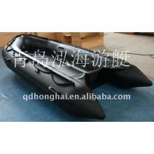 Понтон лодки для продажи 4.3m военный алюминиевый Пол надувная лодка