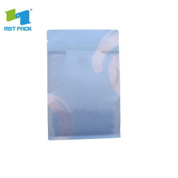 bolsa de papel kraft de 3 capas con impresión en color pantone con revestimiento de pe