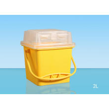 China Products Simple Medical Sharp Container 2L