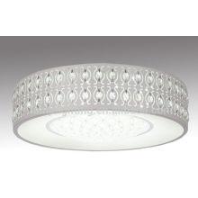 Nuevo diseño residencial LED lámpara de techo de cristal
