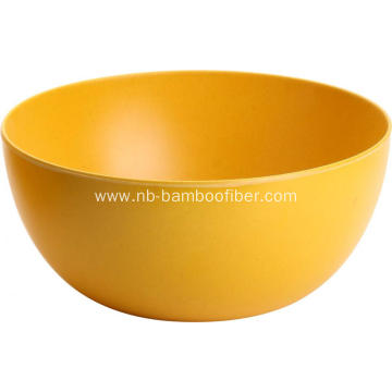 Bamboo Fiber Round Dinner Fruit Salad BOWL
