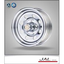 Factory Made Low Price Chrome Trailer Wheel Steel Car Wheels Rim