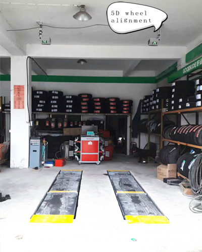 5D Wheel Alignment Tools
