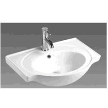 Bathroom Round Ceramic Cabinet Basin (B600)