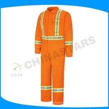 Ropa de trabajo resistente a la llama del taladro del algodón 220gsm para el aceite, el gas, la industria costa afuera
