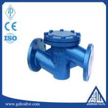 lift fluorine lined wcb check valve
