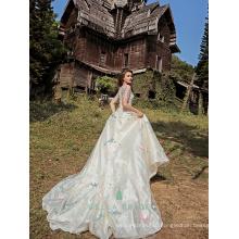 Real pictures of beautiful wedding gowns vestidos de novia 2017 wedding dresses China