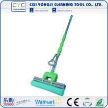 Floor cleanroom mop with pva sponge mop up