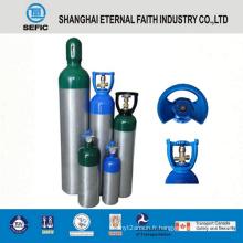 Cylindre industriel d'oxygène de différentes tailles 2014 de pression (LWH180-10-15)